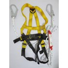 Body Harness absorber double lanyard 1