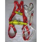 Body Harness absorber double lanyard 2