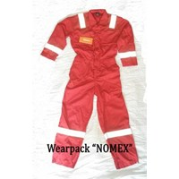 Pakaian safety Wearpack anti dan tahan api Fire Retardant