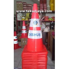 Traffic cone rubber 70cm Asgard