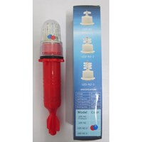 Lampu Flash Torpedo LED 2 warna