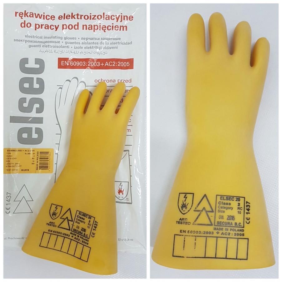 jual sarung tangan safety tahan tegangan listrik 20kv