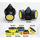 Masker pernapasan NP305 single chemical respirator 2