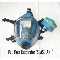 Masker pernapasan Full Face chemical respirator Spasciani TR2002