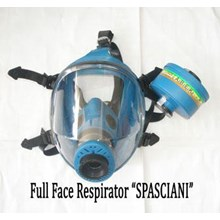 Masker pernapasan Full Face chemical respirator Sp