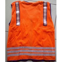Jual Pakaian safety Rompi Security polos 2