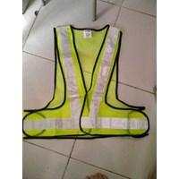 Jual Pakaian Safety Rompi jaring V scotlite 2