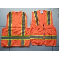 Pakaian Safety Rompi safety polyester 1