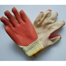 Sarung tangan safety Rajut benang Lapis Latex tebal