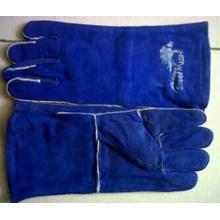 Sarung tangan safety kulit untuk Mengelas