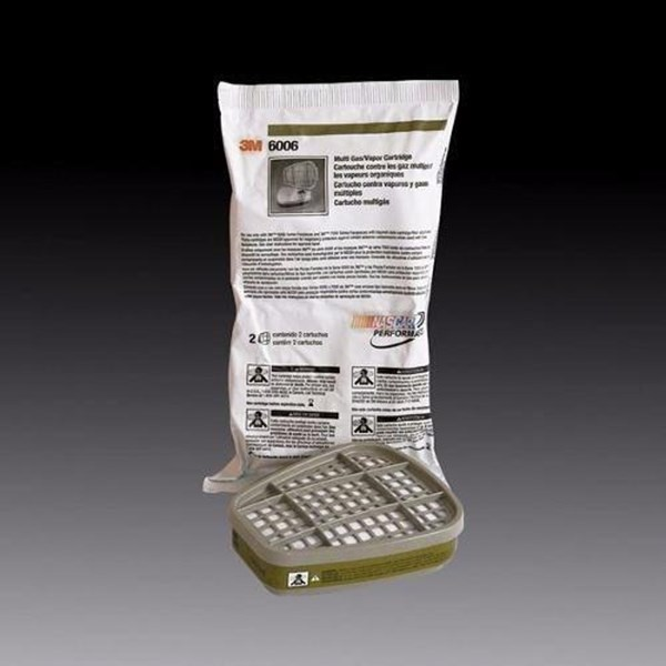 Gas Filter 3M multi acid gas Cartridge 6006