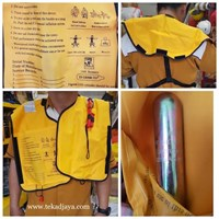 Jual Life jacket Pelampung Inflatable CO2