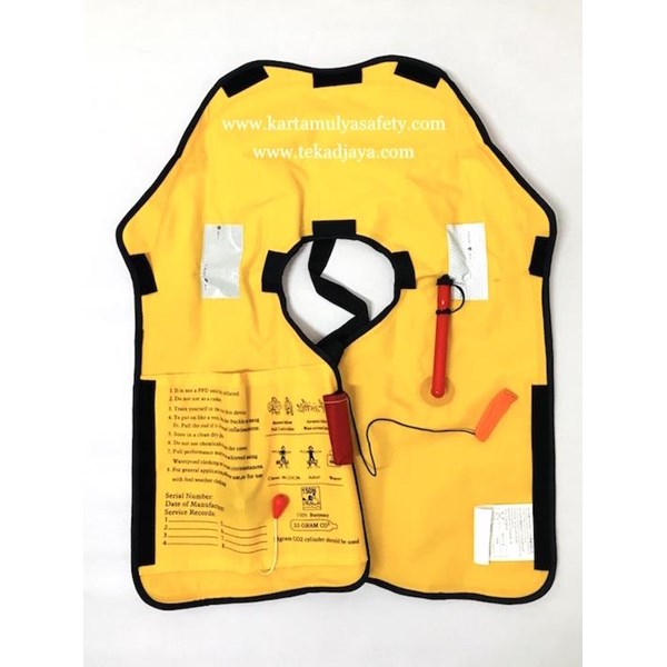 Life jacket Pelampung Inflatable CO2