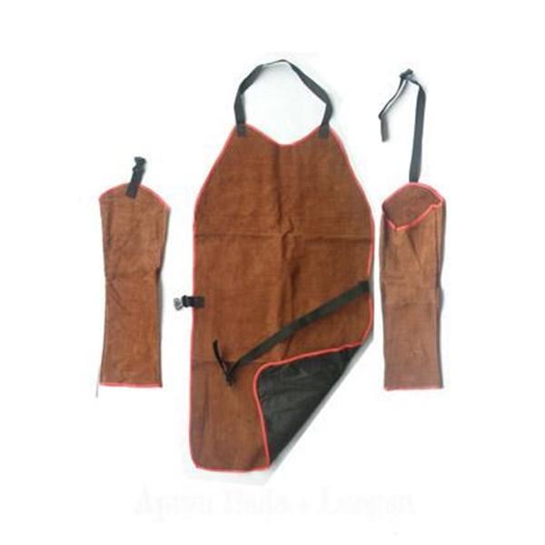 Pakaian safety Apron kulit dada lengan