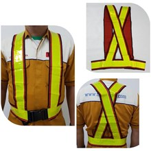 Pakaian safety vest Rompi V kombinasi