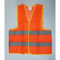 Jual Pakaian safety Rompi polyester 2