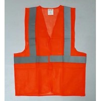Jual Pakaian safety vest polyester 2