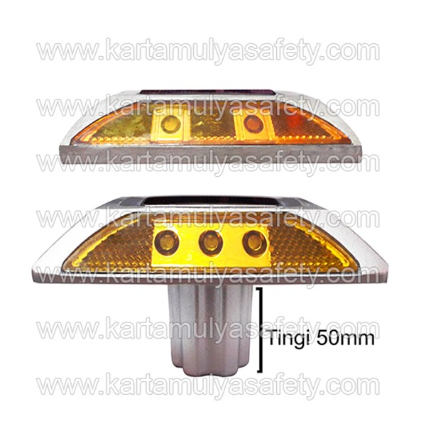 Road Stud Paku Marka Solar Cell