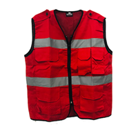 Safety Vest 4 Pocket
