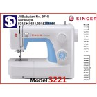 Singer sewing machine Type 3237 1