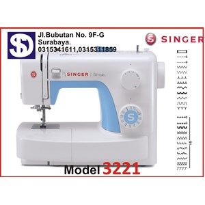 Singer sewing machine Type 3237