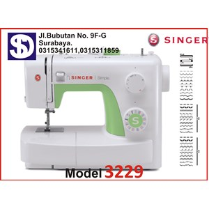 Singer sewing machine Type 3229