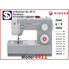 Singer sewing machine Type 4411 1
