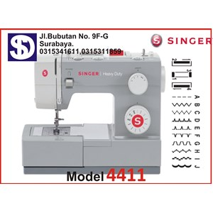 Singer sewing machine Type 4411