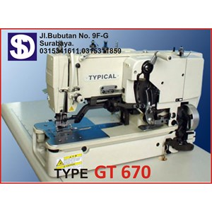Sewing machine Type GT 670