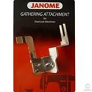 gathering attachment janomoe overlock