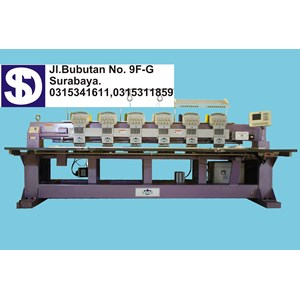 SONG 6 HEAD EMBROIDERY MACHINE
