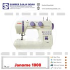 Mesin Jahit portable Janome 1008 1