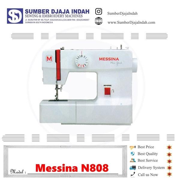 Mesin Jahit Portable Messina N808