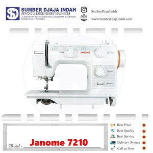 From Janome NS-7210 0