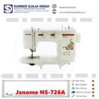 Mesin Jahit Portable Janome NS-726A 1