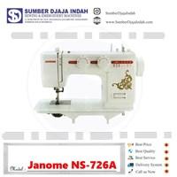 Mesin Jahit Portable Janome NS-726A