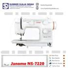 Mesin Jahit Portable Janome NS-7220 1