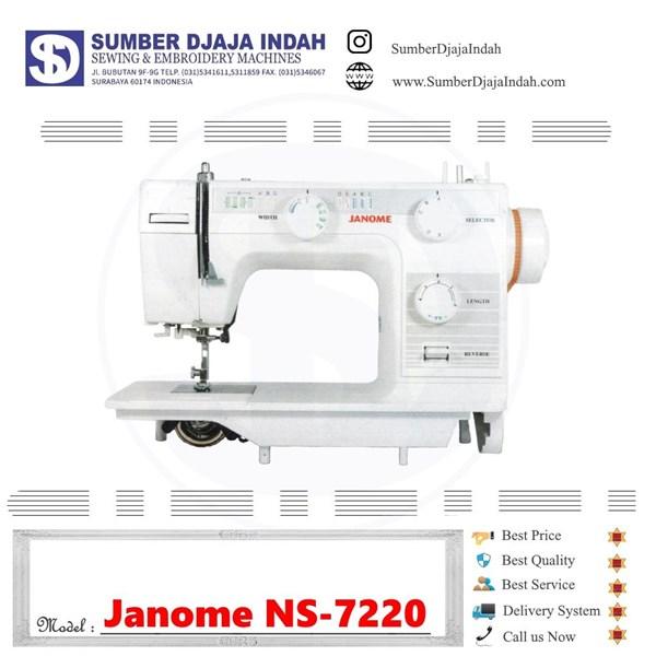 Mesin Jahit Portable Janome NS-7220