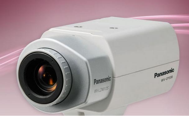 Jual PANASONIC WV-CP300 Fixed Day Night Camera Harga Murah Solo oleh Toko KARISMA CCTV & ALARM