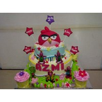 Kue Ulang Tahun Angry Bird