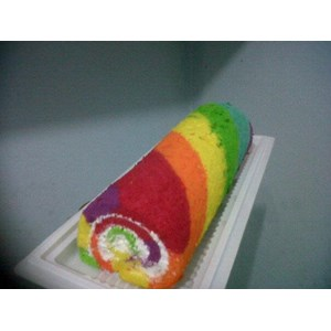 Sell Rainbow Cake Roll From Indonesia By Khena Cake Cheap Price