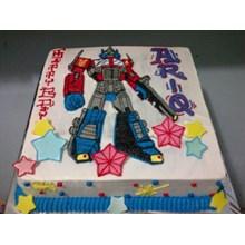 Kue Ulang Tahun Transformer