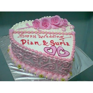 Sell Wedding Cake Design Love From Indonesia By Khena Cake Cheap Price