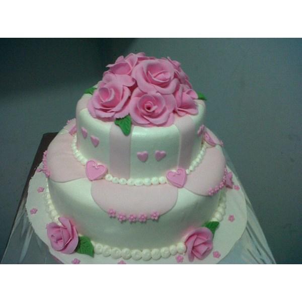 wedding cake susun