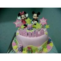 kue mickey mouse fondant 1