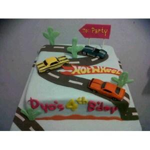 kue hotwheels mainan