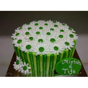kue bunga fondant