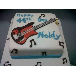 Sell Guitar Birthday Cake From Indonesia By Khena CakeCheap Price