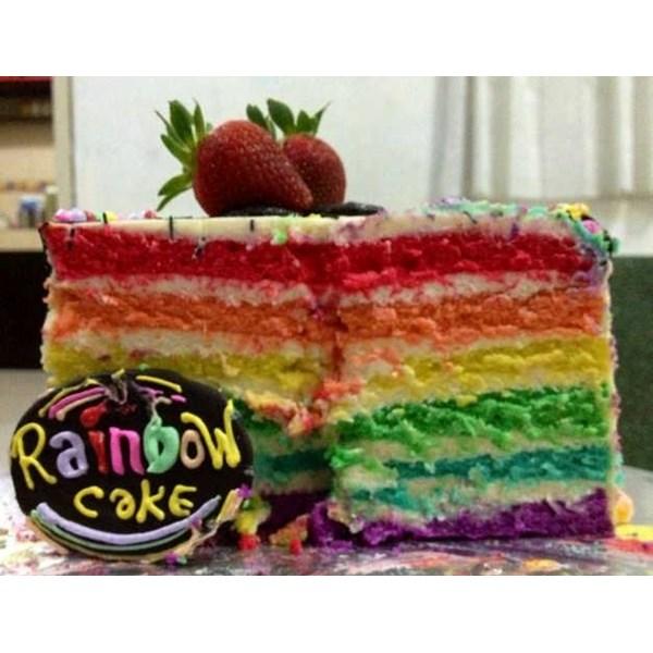 rainbow cake cream cheese
