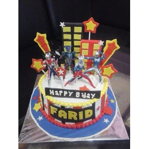 Sell ultraman birthday cake from Indonesia by Khena CakeCheap Price